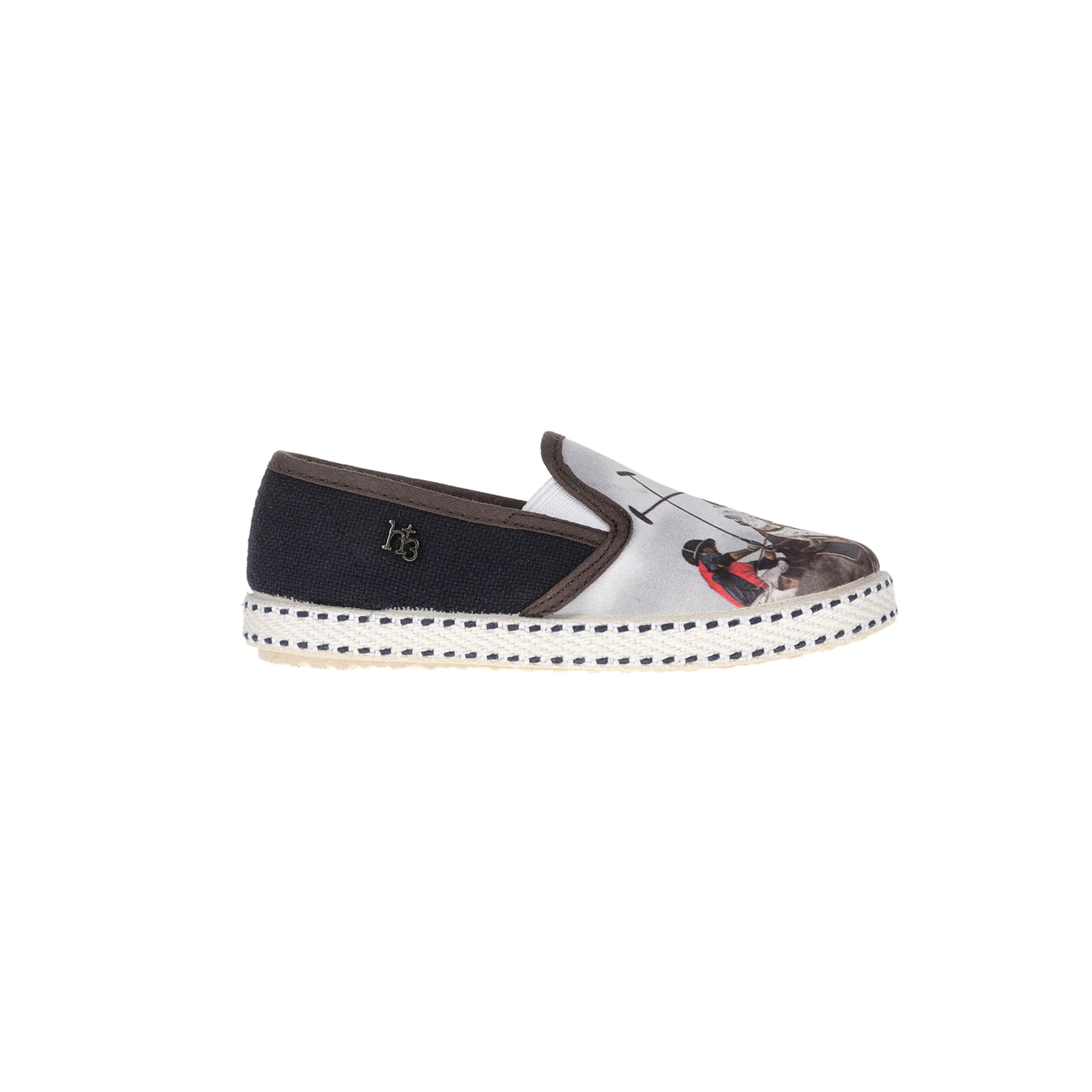 MONNALISA SHOES – Slip-on παπούτσια MONNALISA SHOES ST.POLO H+3 μπλε