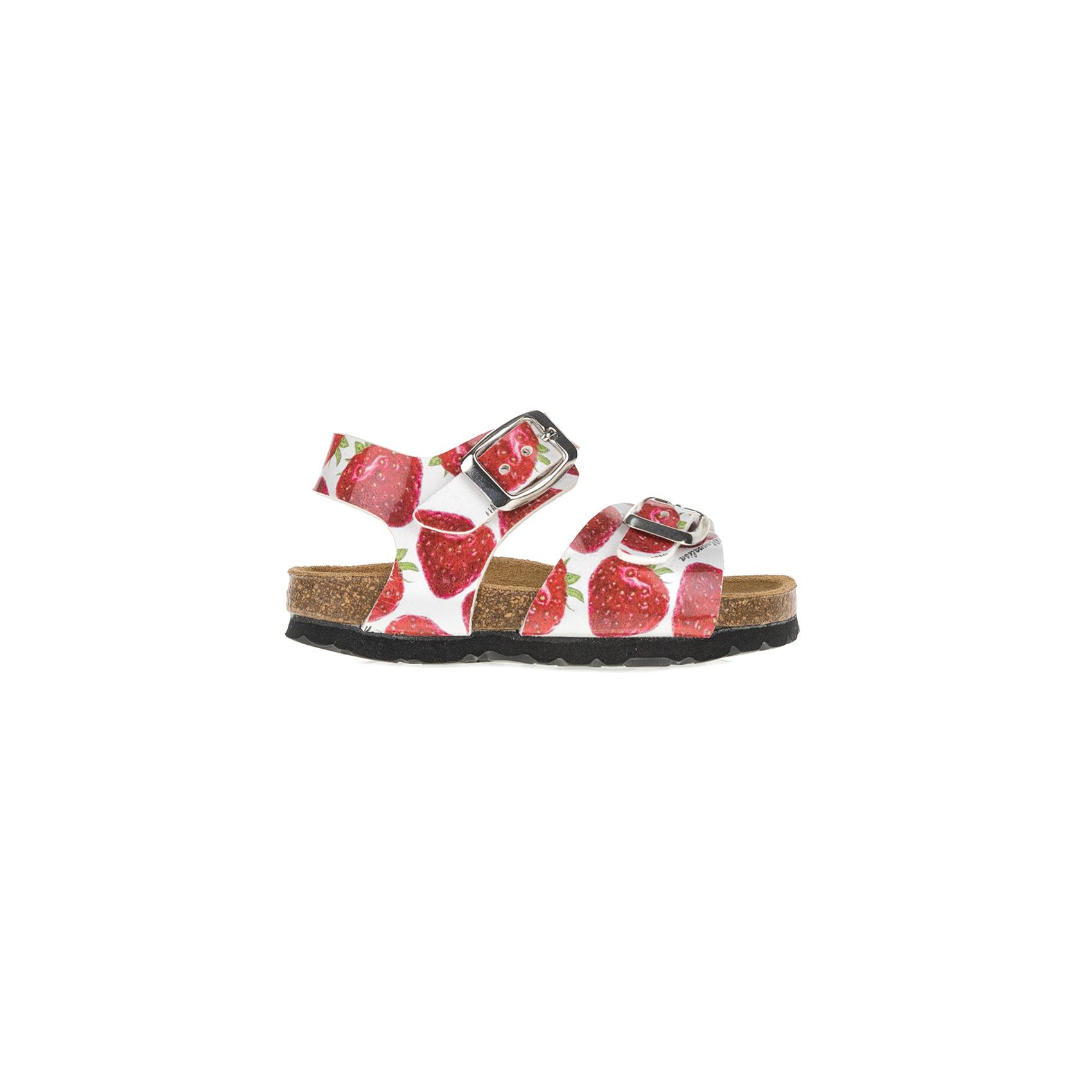 MONNALISA SHOES – Πέδιλα MONNALISA SHOES ST.FRAGOLE με φράουλες