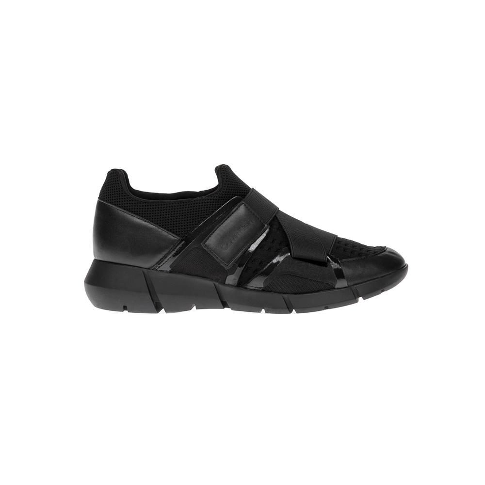 CALVIN KLEIN JEANS - Γυναικεία παπούτσια CALVIN KLEIN JEANS μαύρα γυναικεία παπούτσια sneakers