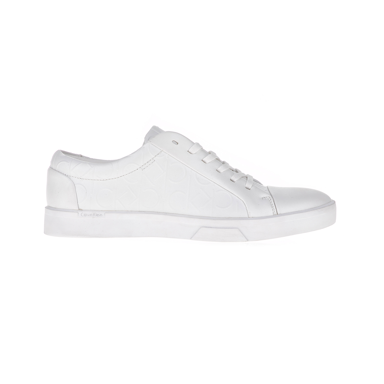 CALVIN KLEIN JEANS – Ανδρικά sneakers IGOR λευκά