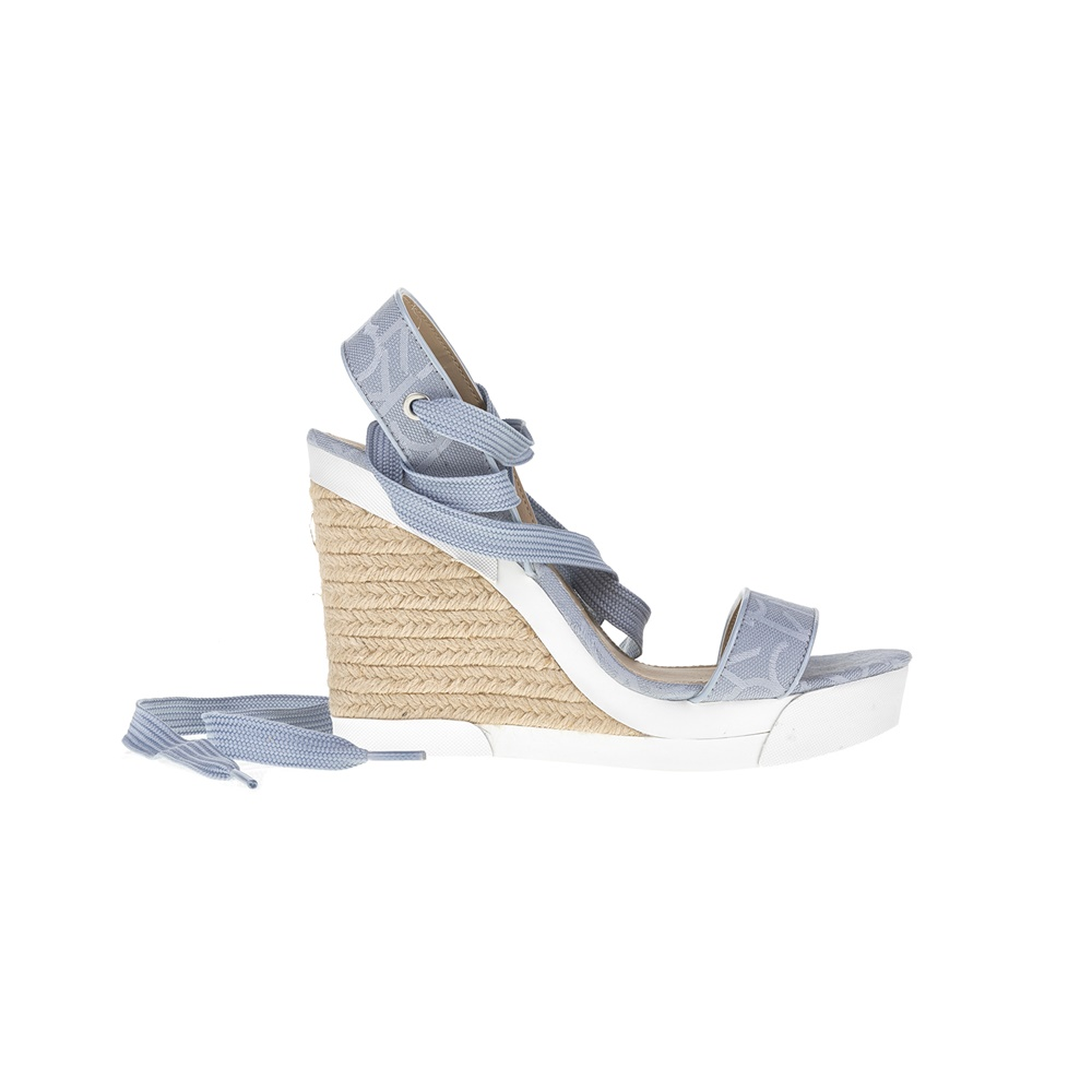 CALVIN KLEIN JEANS - Γυναικείες πλατφόρμες CALVIN KLEIN JEANS γαλάζιες γυναικεία παπούτσια πλατφόρμες