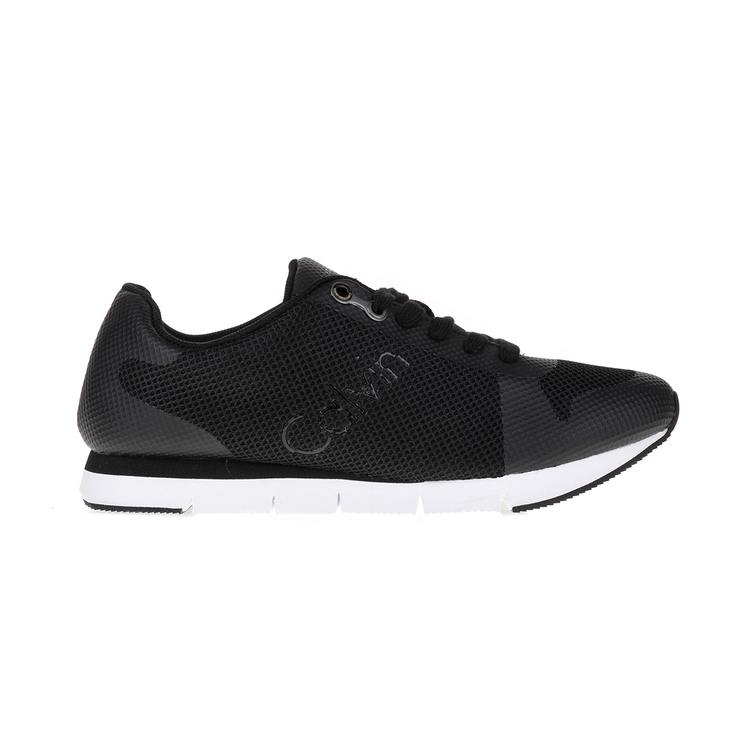 CALVIN KLEIN JEANS – Ανδρικά sneakers JACQUES μαύρα