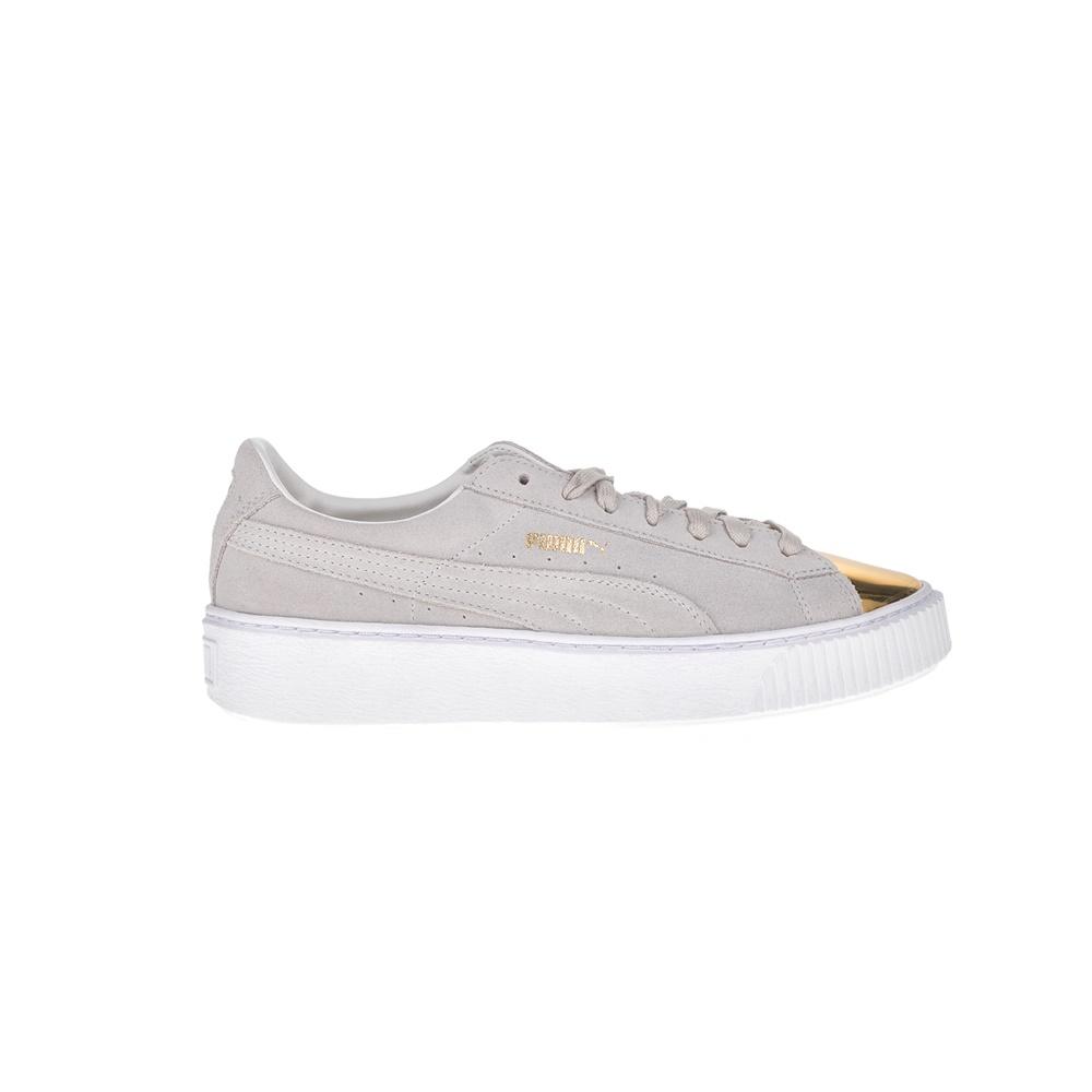 PUMA - Γυναικεία sneakers Puma SUEDE PLATFORM μπεζ - χρυσά 1690b770d