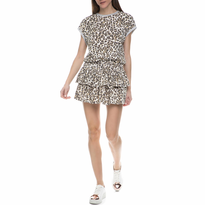 JUICY COUTURE - Γυναικείο μίνι φόρεμα Juicy Couture λεοπάρ γυναικεία ρούχα φορέματα μίνι