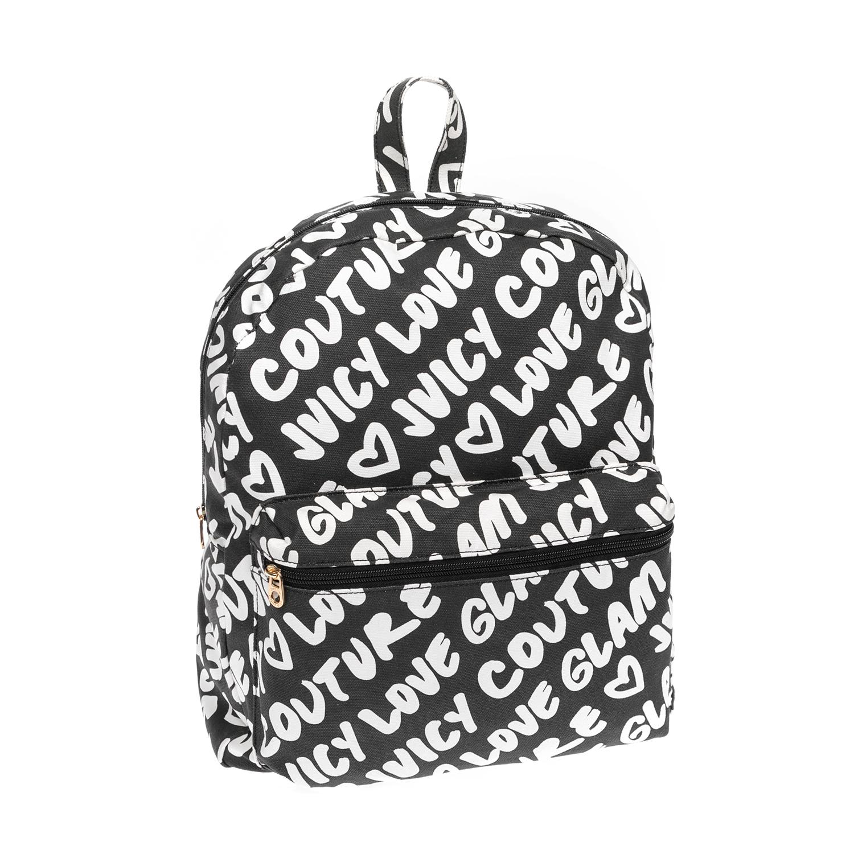 JUICY COUTURE – Τσάντα πλάτης JUICY COUTURE μαύρη