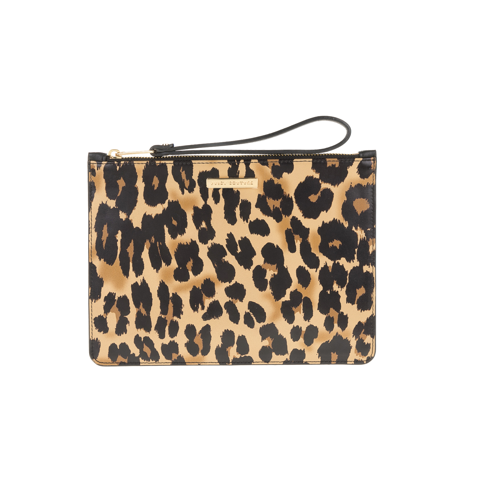 JUICY COUTURE – Τσαντάκι-πορτοφόλι JUICY COUTURE ZEPHYR LEOPARD MEDIUM 1533056.0-7100