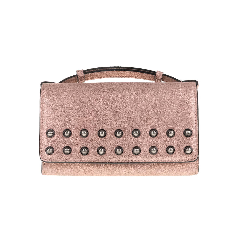 JUICY COUTURE - Γυναικεία τσάντα-πορτοφίλι JUICY COUTURE OLYMPIC ροζ 591882b02c3