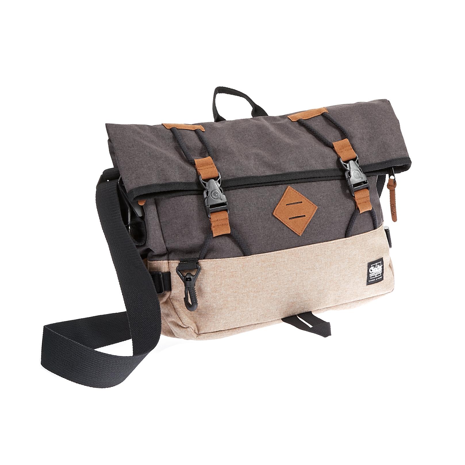 G.RIDE – Τσάντα ταχυδρόμου G.Ride μπεζ-καφέ 1533187.0-K471