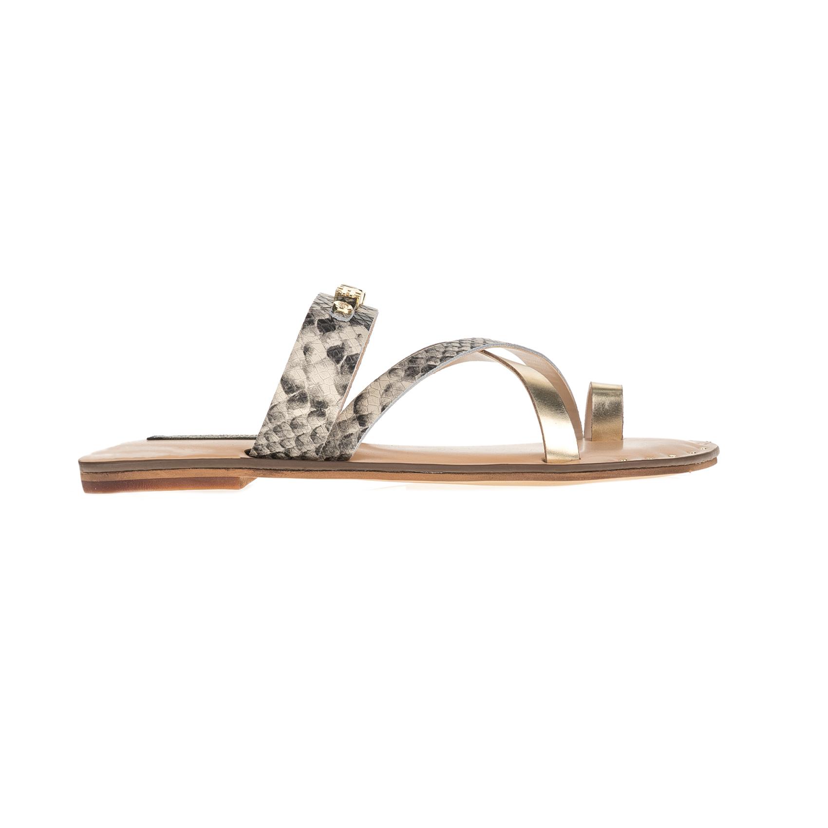 JUICY COUTURE – Γυναικεία σανδάλια JUICY COUTURE PRINCLEY με animal print