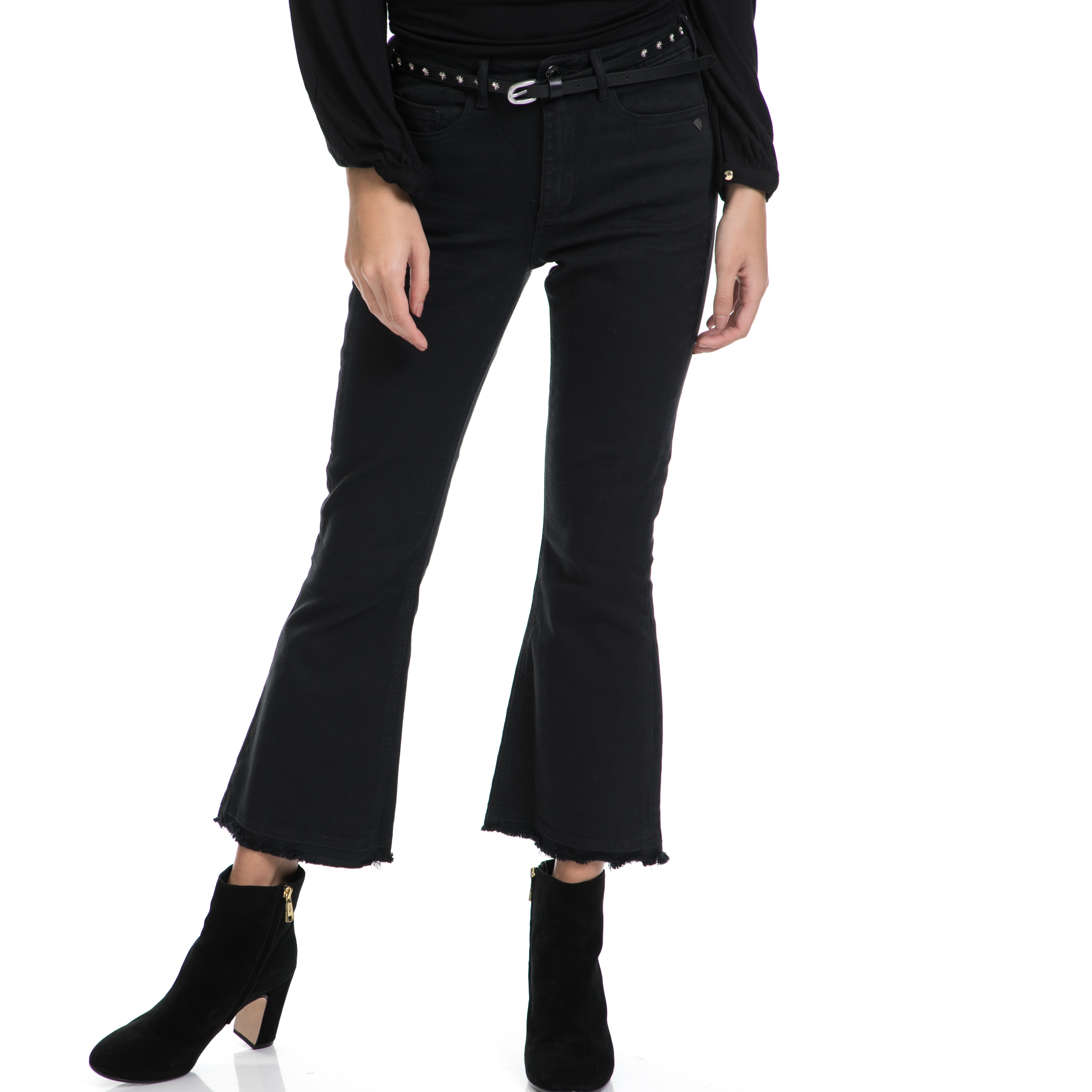 MAISON SCOTCH – Γυναικείο τζιν παντελόνι New Bowie MAISON SCOTCH μαύρο