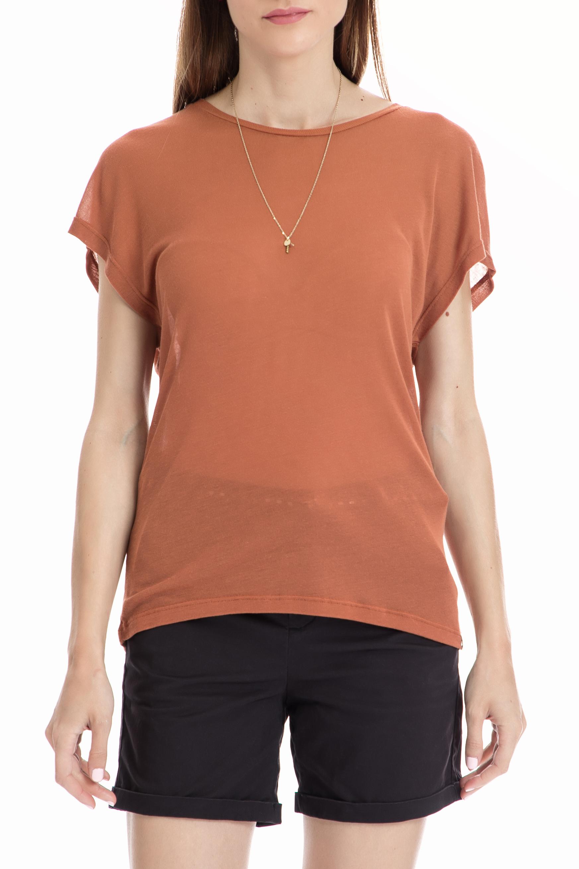SCOTCH & SODA – Γυναικεία μπλούζα Maison Scotch πορτοκαλί