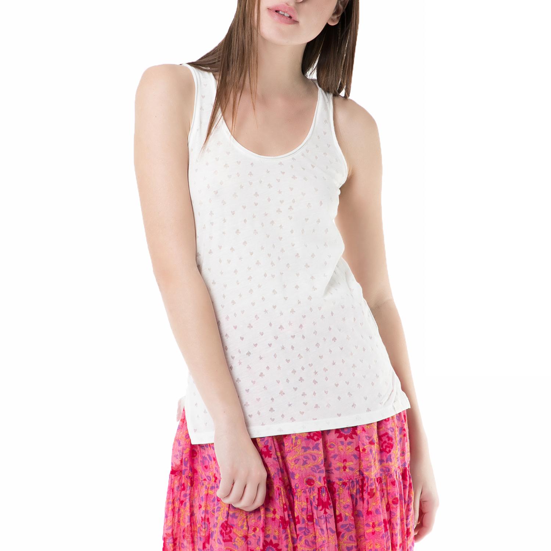 219f535f3901 SCOTCH   SODA – Γυναικεία αμάνικη μπλούζα SCOTCH   SODA λευκή