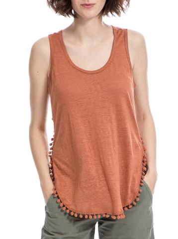 MAISON SCOTCH – Γυναικεία μπλούζα Maison Scotch πορτοκαλί