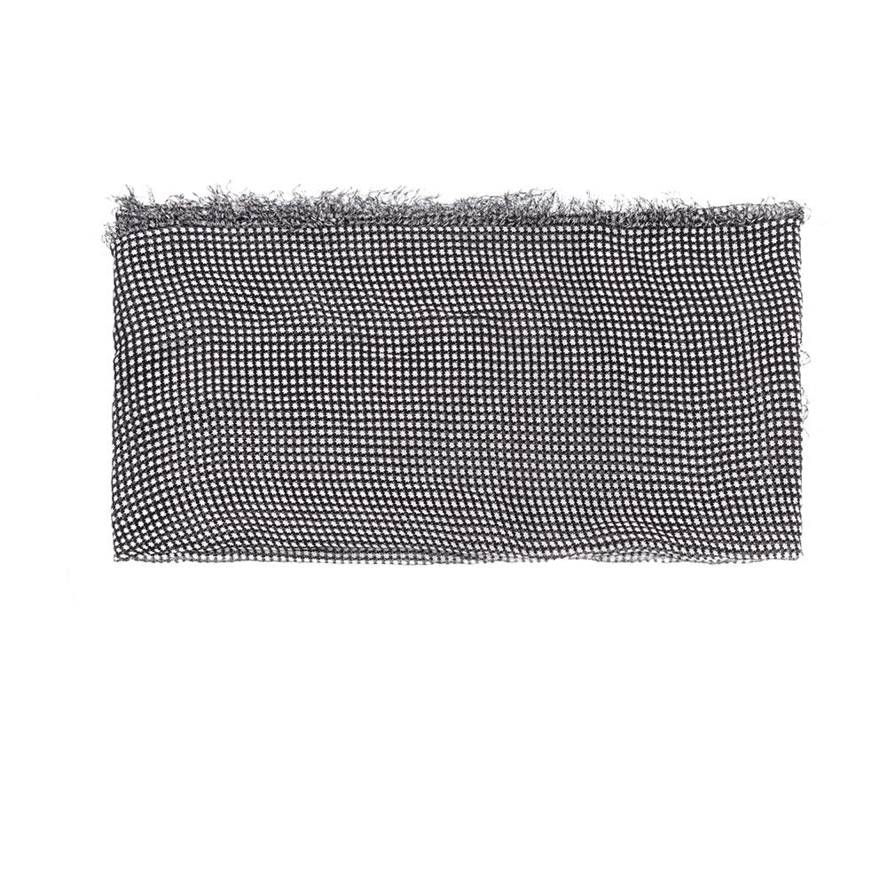 e598aab4964 SCOTCH & SODA - Γυναικείο φουλάρι MAISON SCOTCH μαύρο-λευκό ...