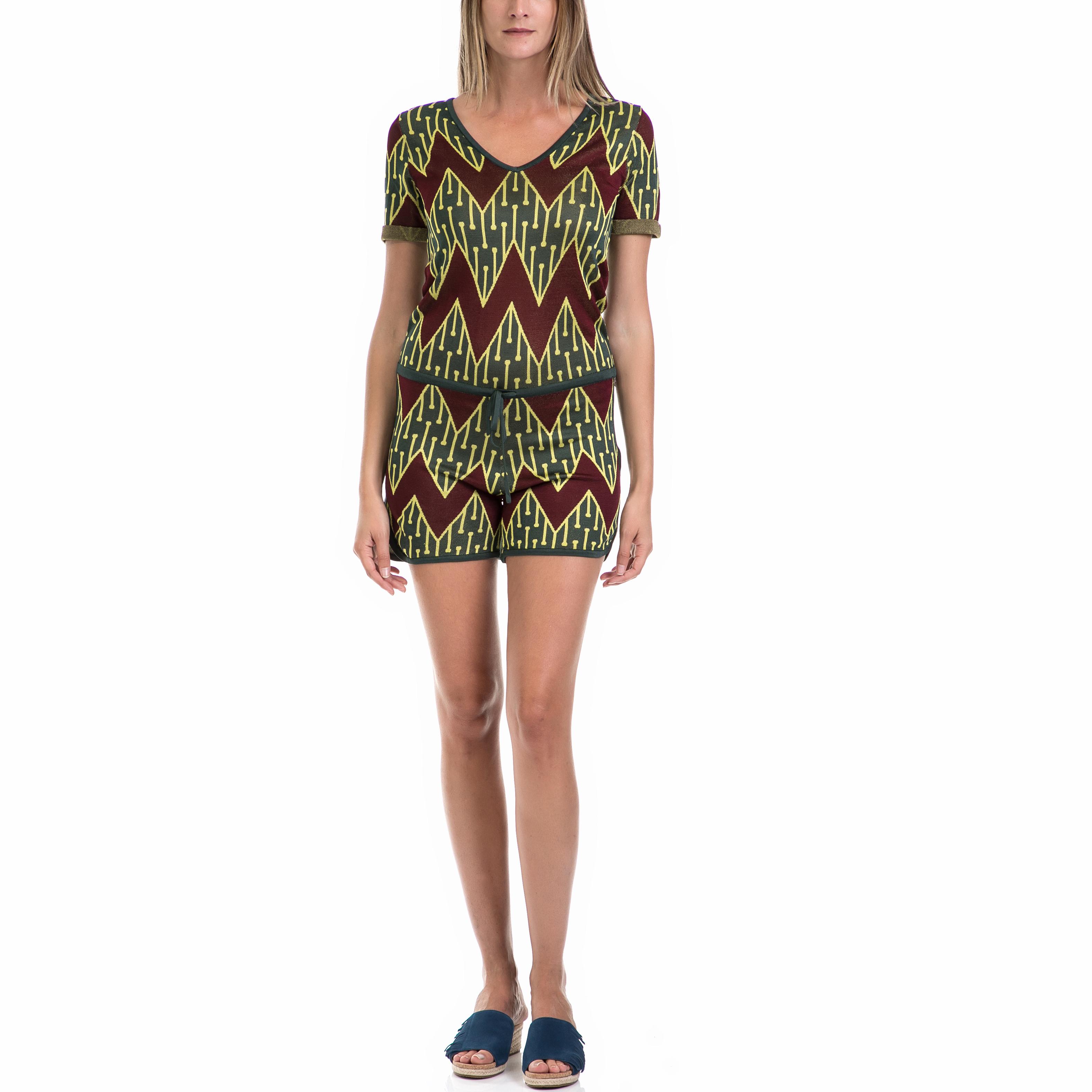 MAISON SCOTCH – Γυναικεία ολόσωμη φόρμα MAISON SCOTCH πράσινη-καφέ
