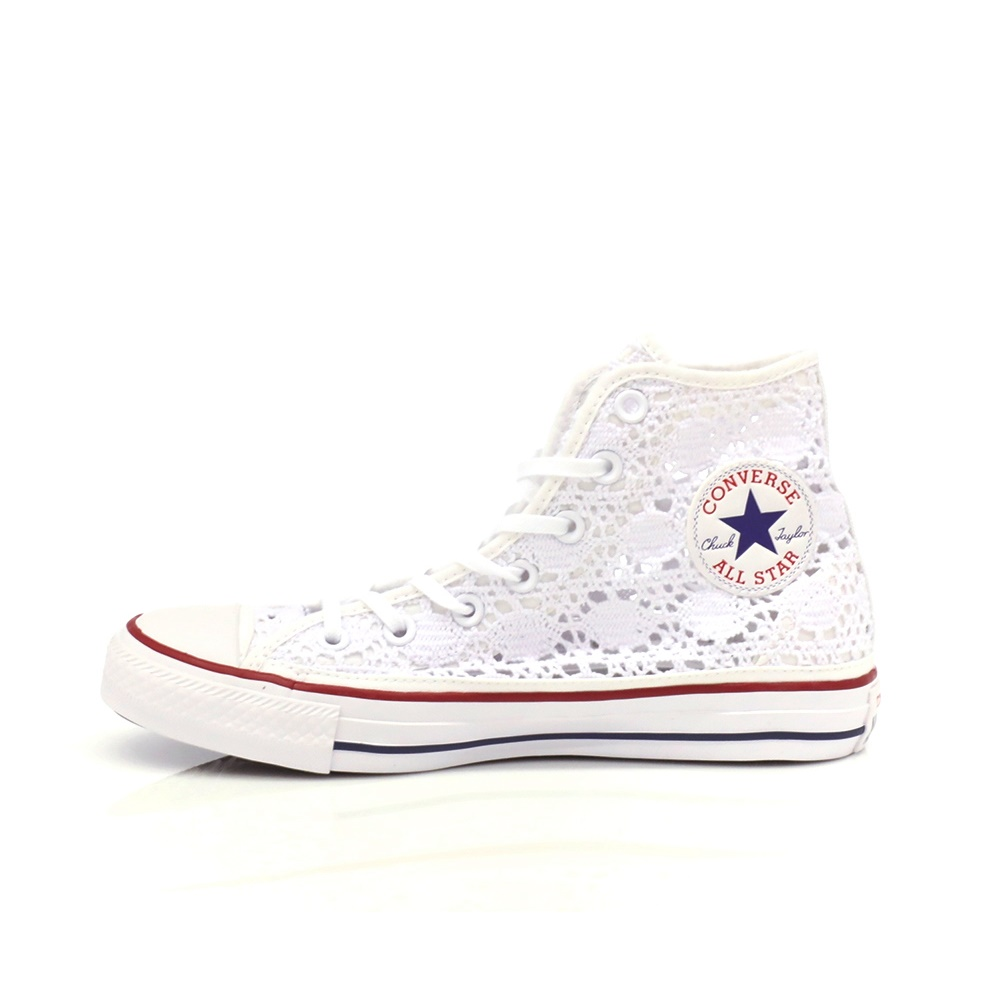 CONVERSE – Γυναικεία παπούτσια Chuck Taylor AS Core HI λευκά