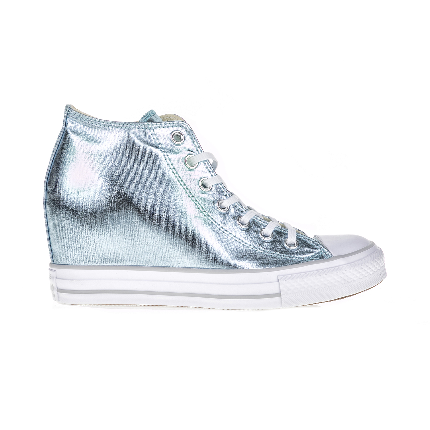 -44% Factory Outlet CONVERSE – Γυναικεία αθλητικά μποτάκια CONVERSE CT AS  Mid Lux μπλε 27391779942