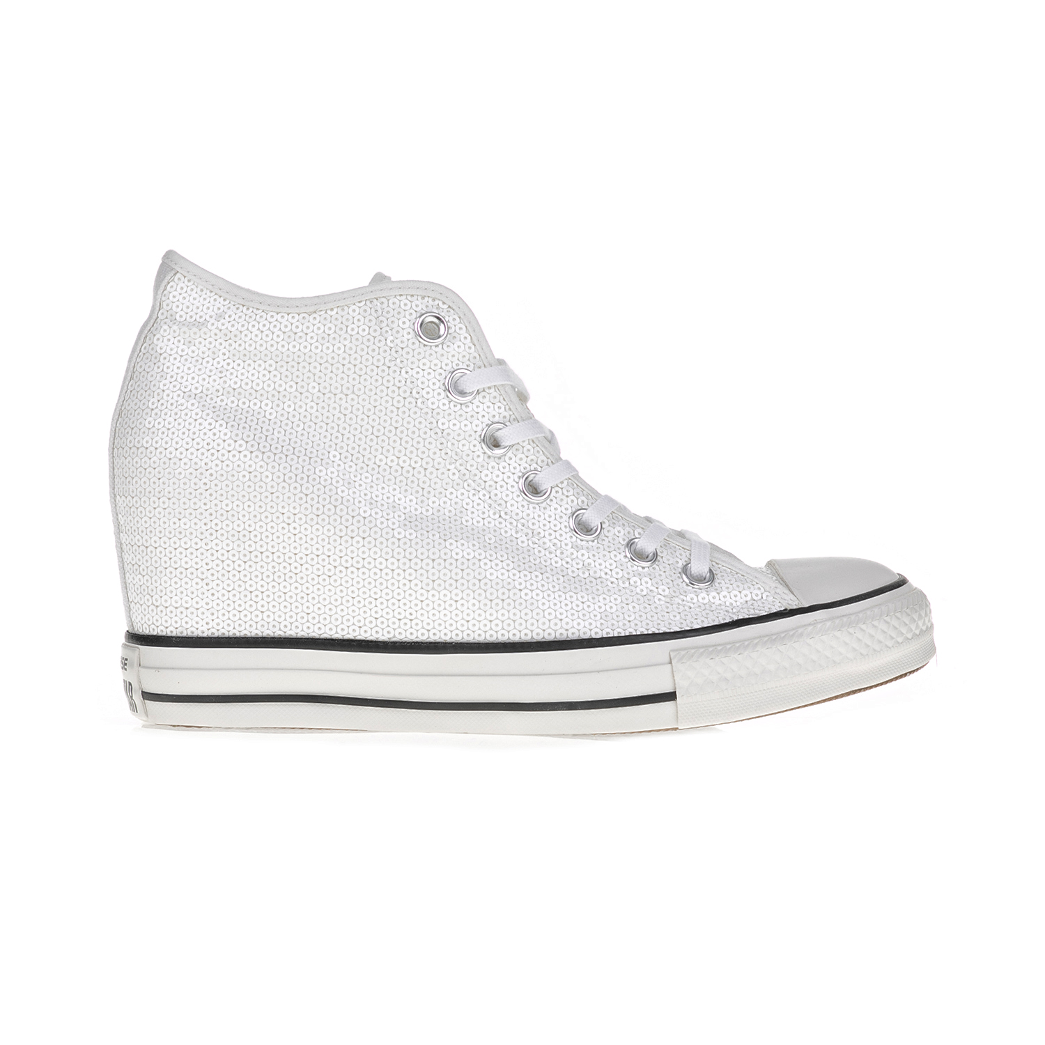 -45% Factory Outlet CONVERSE – Γυναικεία αθλητικά μποτάκια CONVERSE CT AS  Mid Lux λευκά 0801a0af4c2