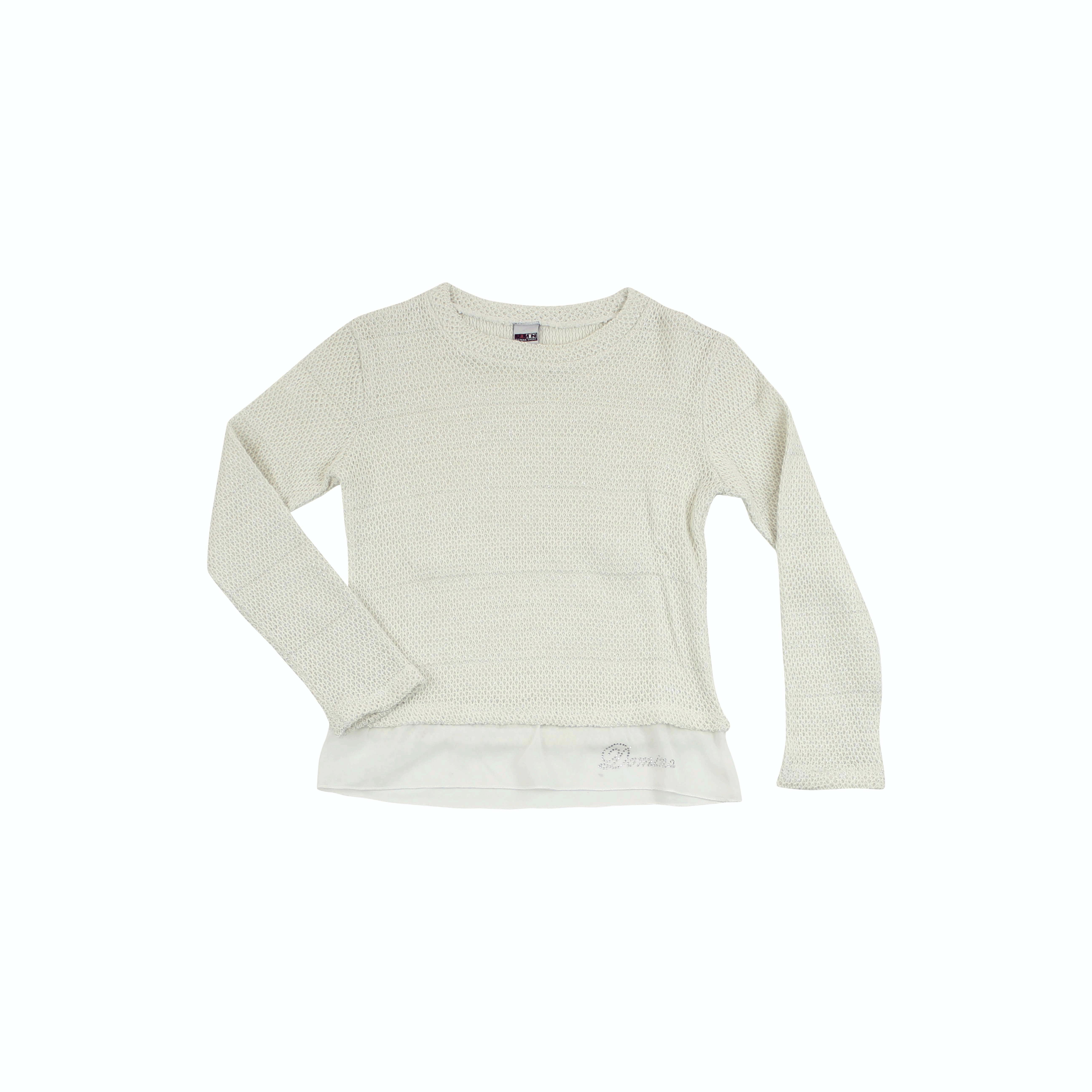 DMN – Παιδική μπλούζα DMN εκρού