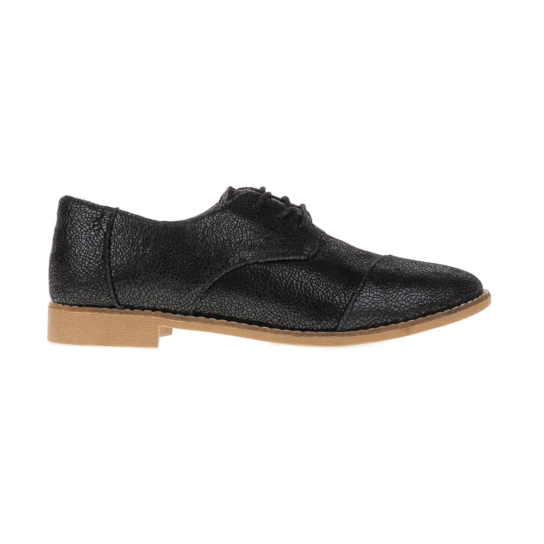 TOMS – Γυναικεία παπούτσια TOMS BLACK CRACKLED μαύρα