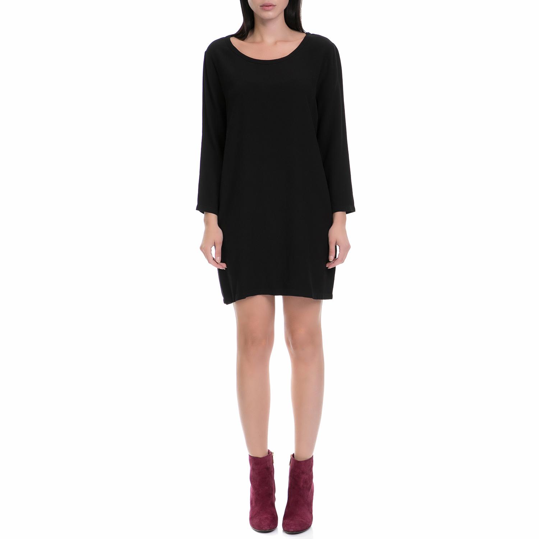 AMERICAN VINTAGE - Γυναικείο φόρεμα AMERICAN VINTAGΕ μαύρο γυναικεία ρούχα φορέματα μίνι