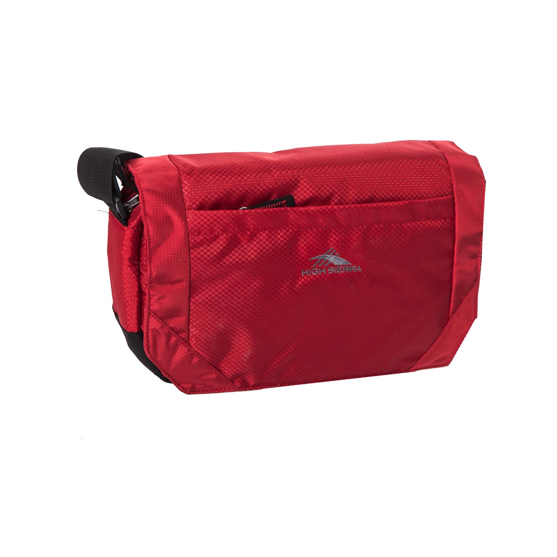 HIGH SIERRA (TRAVEL) – Τσάντα ταχυδρόμου HIGH SIERRA VENADO κόκκινη