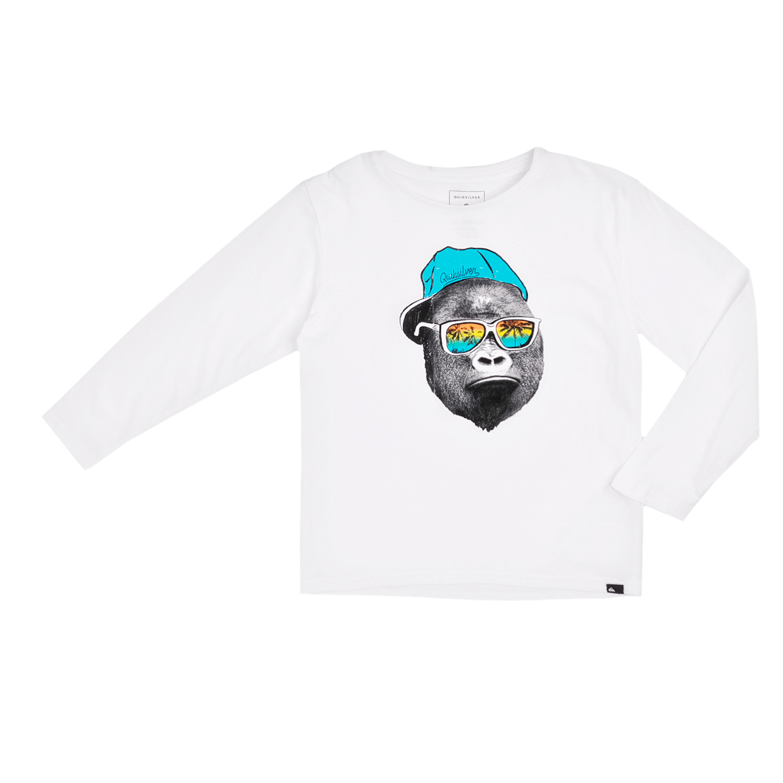 QUICKSILVER – Παιδική μπλούζα QUICKSILVER λευκή