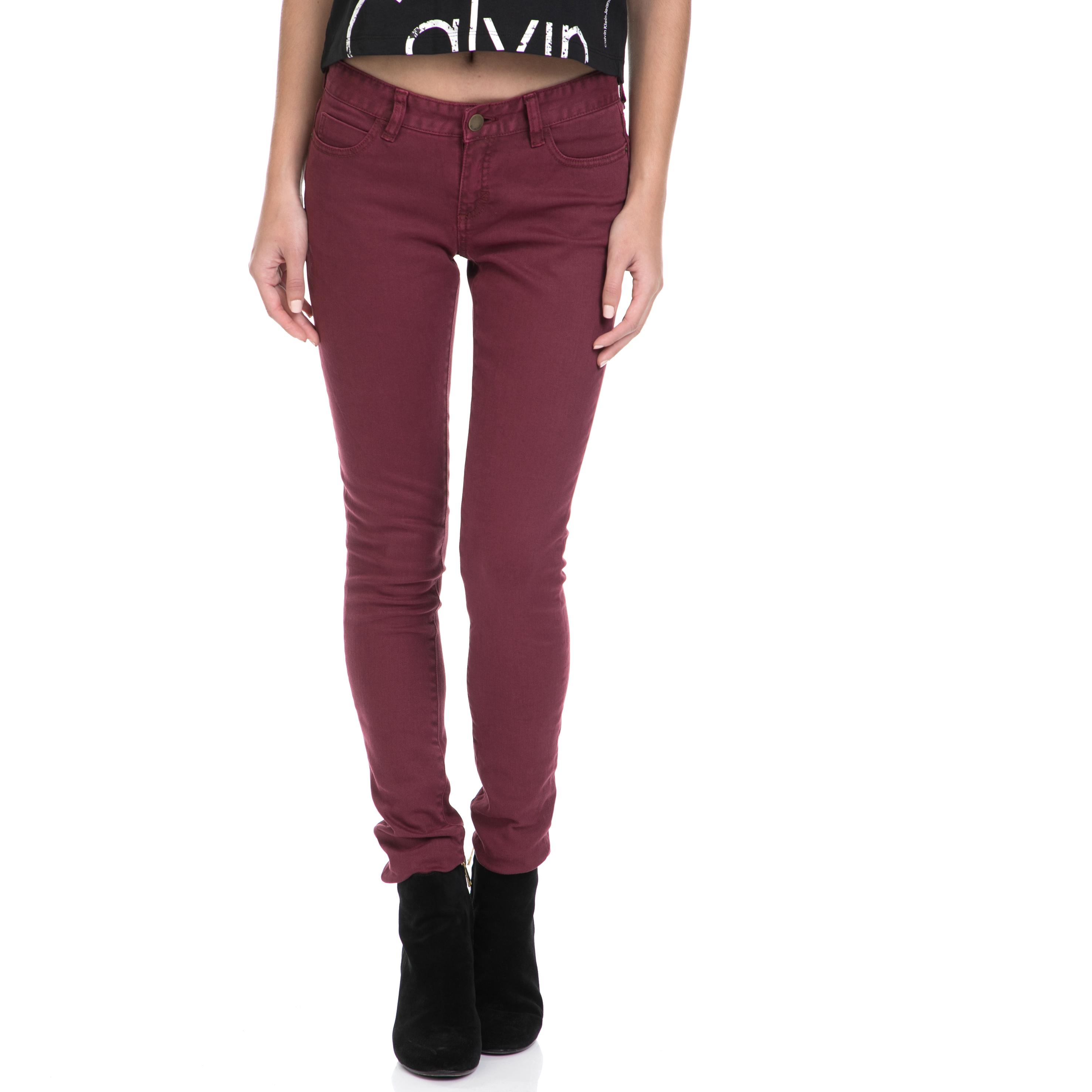 BILLABONG – Γυναικείο τζιν παντελόνι BILLABONG κόκκινο