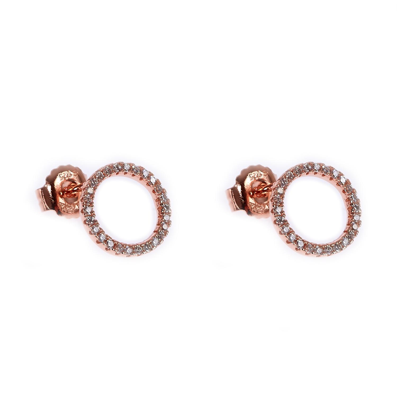 FOLLI FOLLIE - Ασημένια σκουλαρίκια Folli Follie γυναικεία αξεσουάρ κοσμήματα σκουλαρίκια