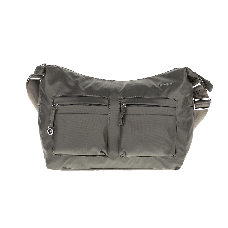 SAMSONITE – Τσάντα ώμου MOVE 2 γκρι-πράσινη 1538287.0-0000