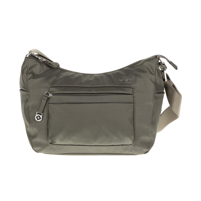 SAMSONITE – Τσάντα ώμου MOVE 2 γκρι-πράσινη
