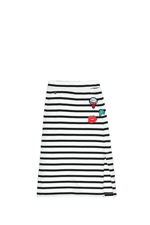 GARCIA JEANS – Παιδική φούστα Garcia Jeans λευκή-μαύρη