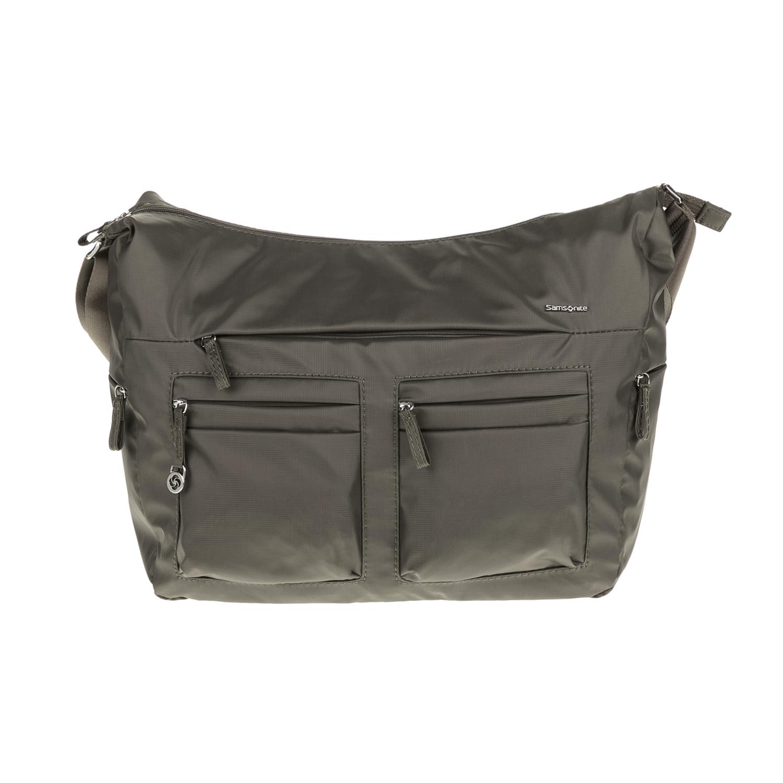SAMSONITE – Τσάντα ώμου MOVE 2 γκρι-πράσινη 1539369.0-0000