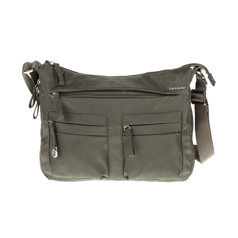 SAMSONITE – Τσάντα ώμου MOVE 2 γκρι-πράσινη 1539371.0-0000