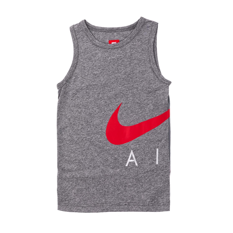 NIKE – Αγορίστικη αμάνικη μπλούζα Nike γκρι