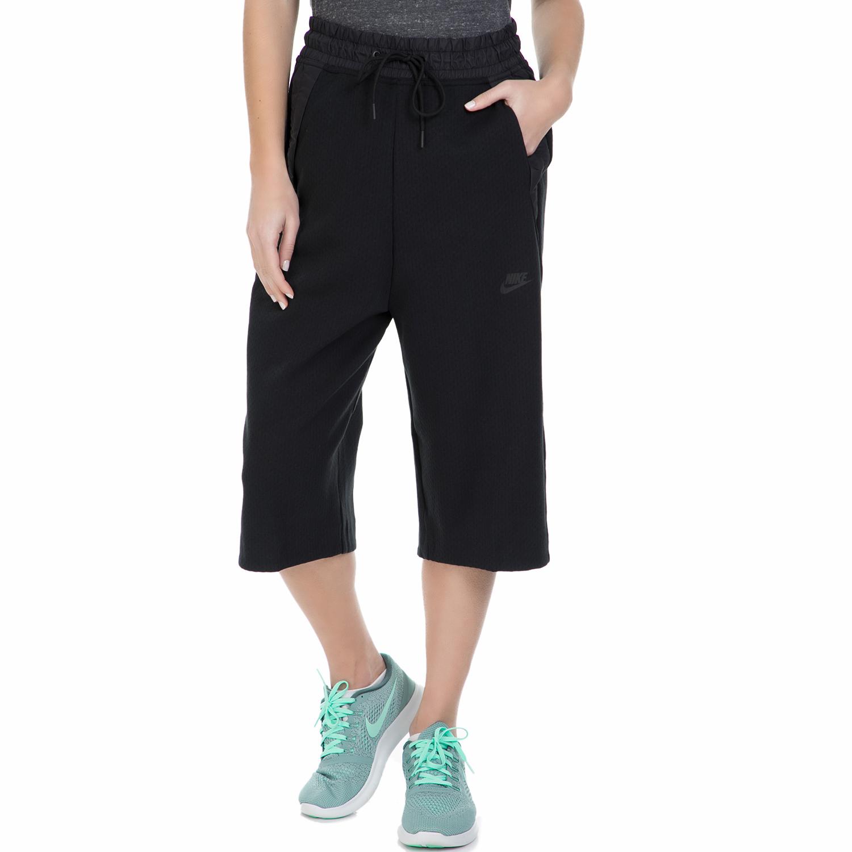 NIKE – Γυναικεία crop φόρμα Nike TCH FLC 3/4 μαύρη