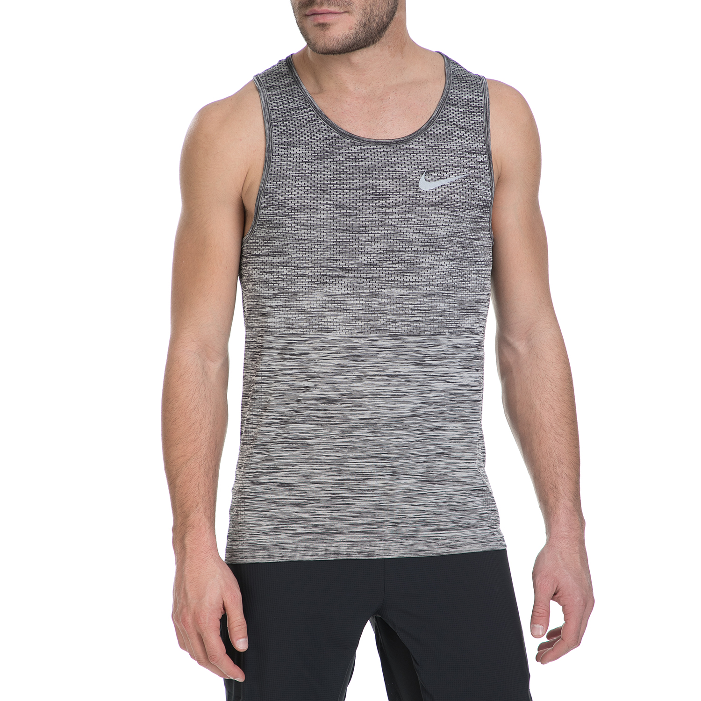 NIKE – Αμάνικη μπλούζα Nike γκρι