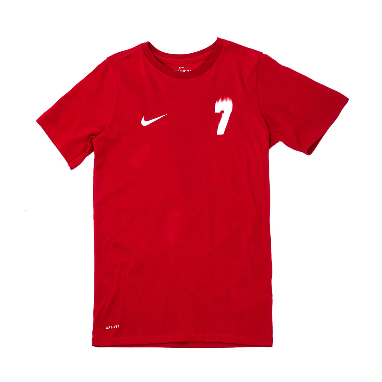 NIKE – Αγορίστικη κοντομάνικη μπλούζα Nike Ronaldo κόκκινη