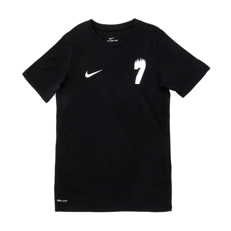 NIKE – Αγορίστικη κοντομάνικη μπλούζα Nike Ronaldo μαύρη