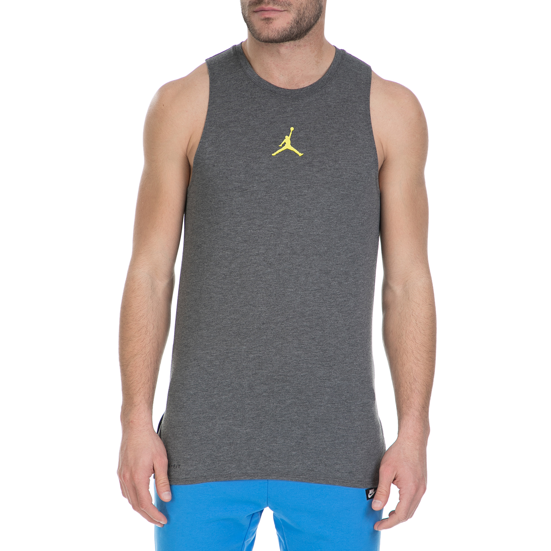 NIKE – Αμάνικη μπλούζα Nike Air Jordan γκρι