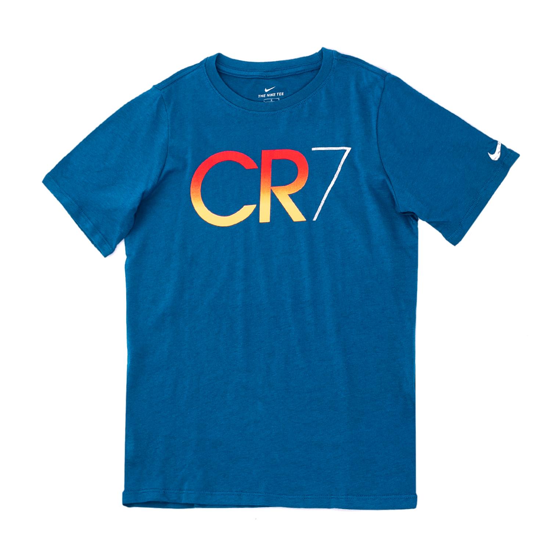 NIKE – Αγορίστικη κοντομάνικη μπλούζα Nike CR7 μπλε