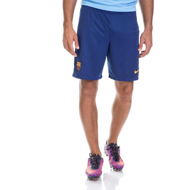 NIKE - Ανδρική αθλητική βερμούδα NIKE μπλε ανδρικά ρούχα σορτς βερμούδες αθλητικά