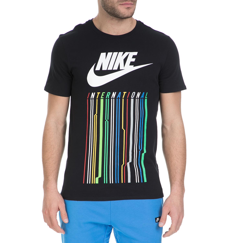 NIKE – Ανδρικό κοντομάνικο μπλουζάκι Nike μαύρο