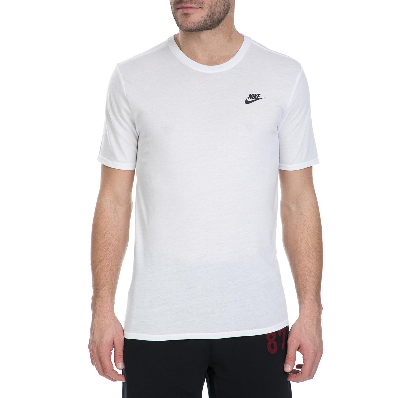 NIKE – Ανδρικό κοντομάνικο μπλουζάκι Nike λευκό
