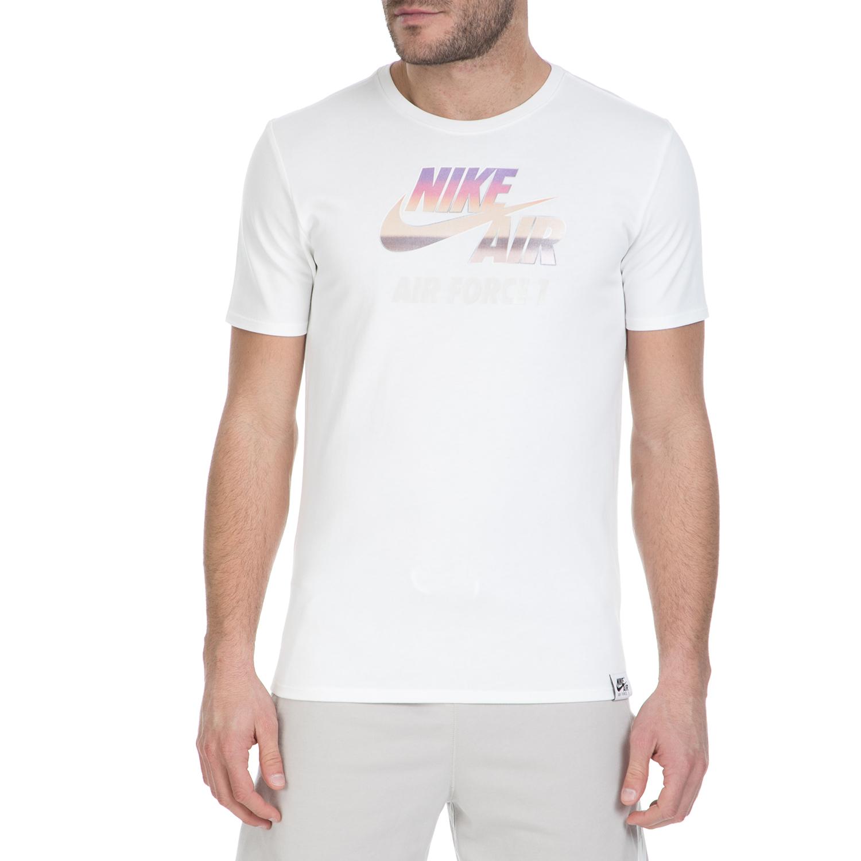 NIKE – Κοντομάνικη μπλούζα Nike Air Force 1 λευκή