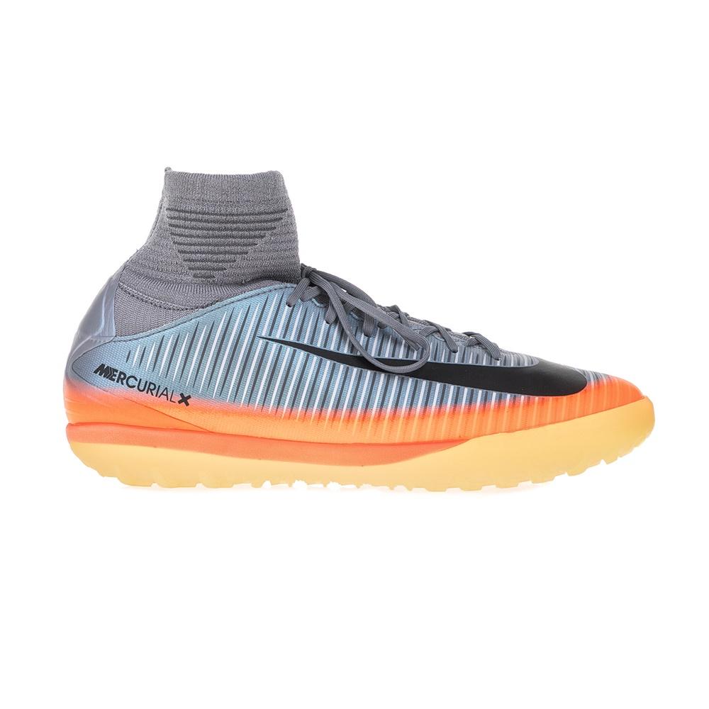 NIKE - Παιδικά παπούτσια ποδοσφαίρου JR MERCURIALX PROXIMO 2 CR7 TF γκρι - πορτοκαλί