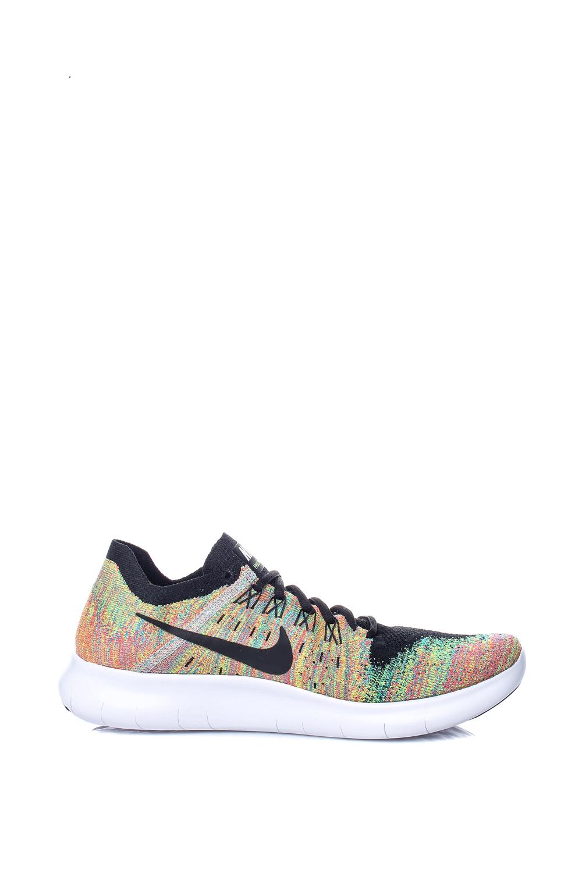 NIKE – Ανδρικά αθλητικά παπούτσια Nike FREE RN FLYKNIT 2017 πολύχρωμα