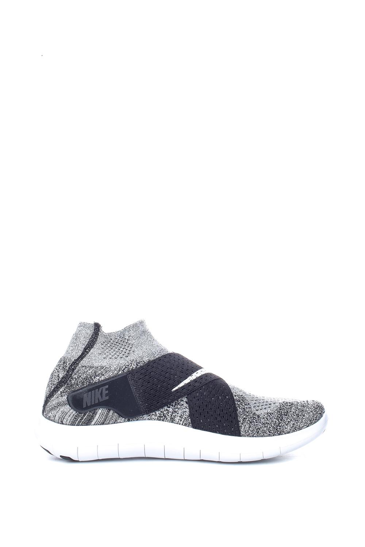 NIKE – Ανδρικά αθλητικά παπούτσια Nike FREE RN MOTION FK 2017 γκρι – μαύρα