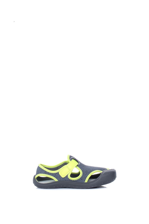 NIKE – Αγορίστικα σανδάλια NIKE SUNRAY PROTECT (TD) γκρι-κίτρινα