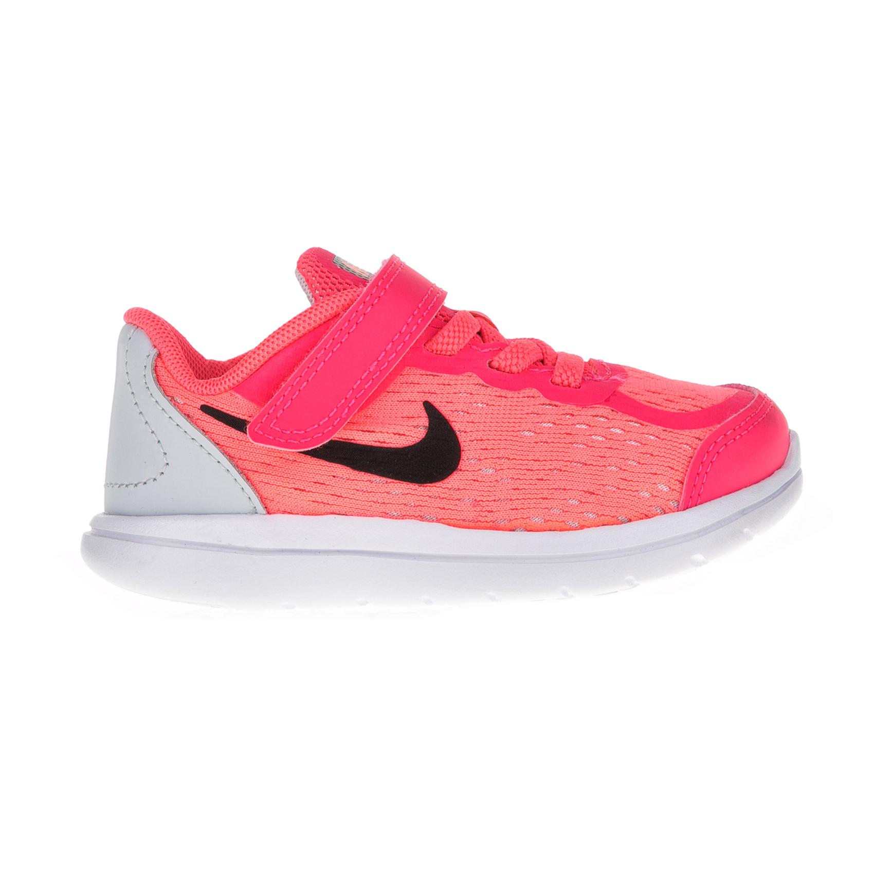 NIKE – Βρεφικά αθλητικά παπούτσια NIKE FLEX 2017 RN (TDV) ροζ